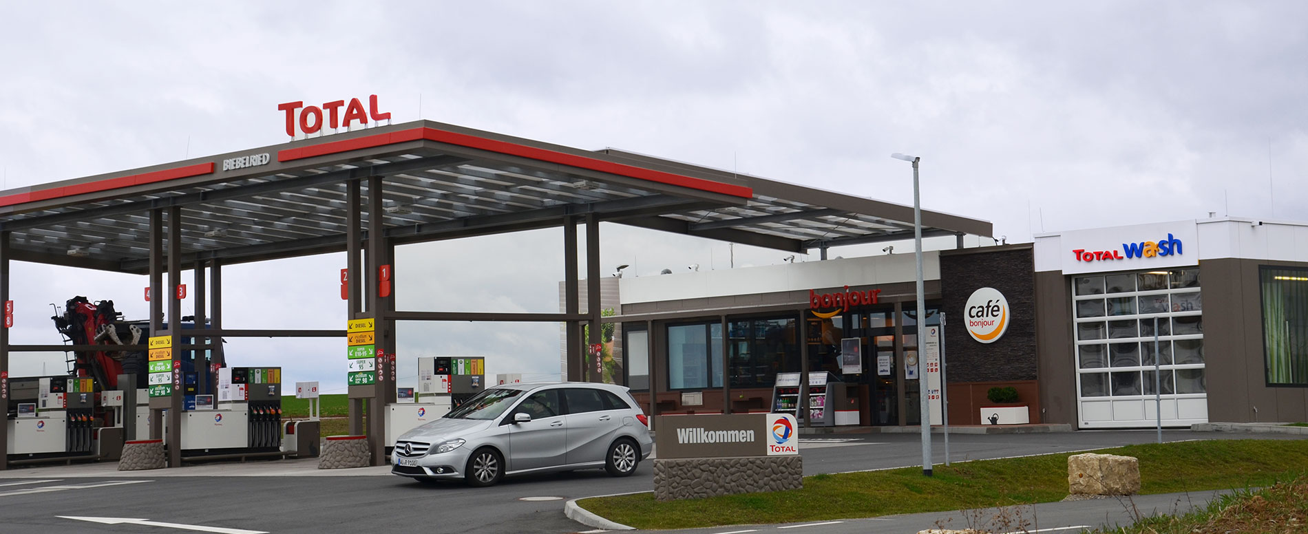 Total-Tankstellenanlage